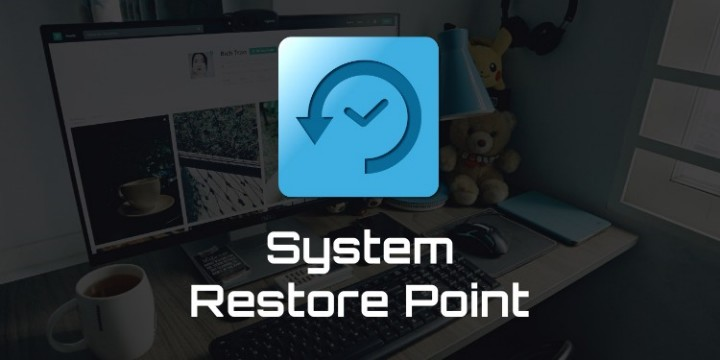 cara membuat system restore point windows