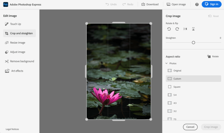 photoshop express aplikasi edit foto pc gratis terbaik