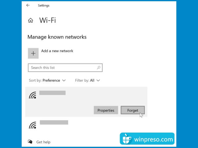 windows 10 cant connect to this network 7
