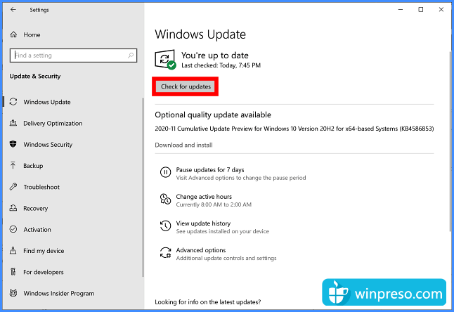 cara update windows 10 gambar 2