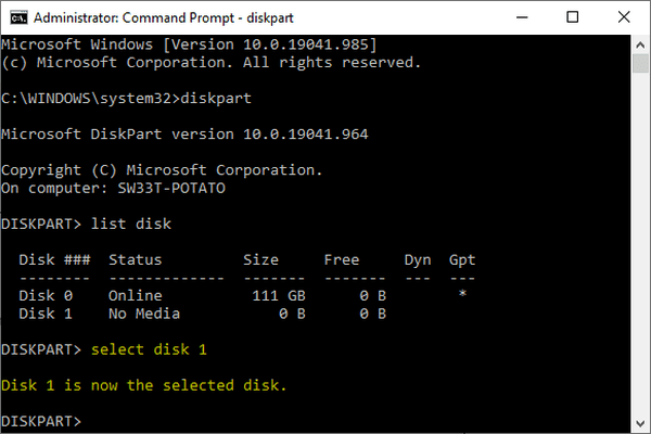 mengatasi windows cannot be installed on this disk 2