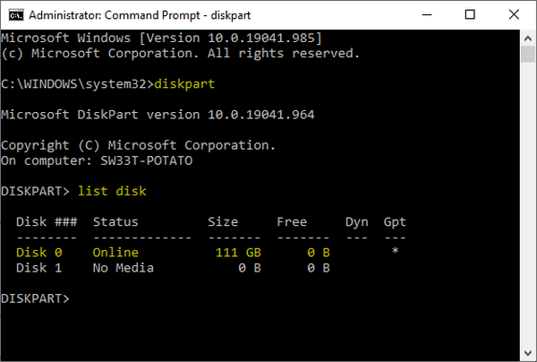mengatasi windows cannot be installed on this disk 3