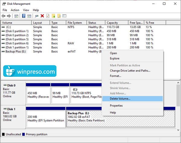 cara mengatasi windows was unable to complete the format 4