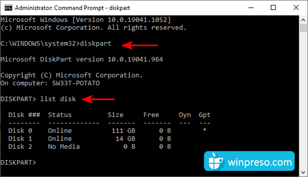 cara mengatasi windows was unable to complete the format 9